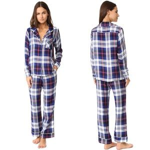 Plush | NEW Women's Ultra Soft Plaid Pajama Set
